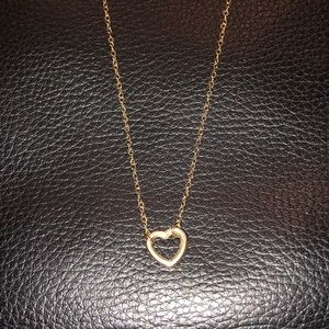 Jewelry - Delicate Gold Fill Minimalist Heart Necklace